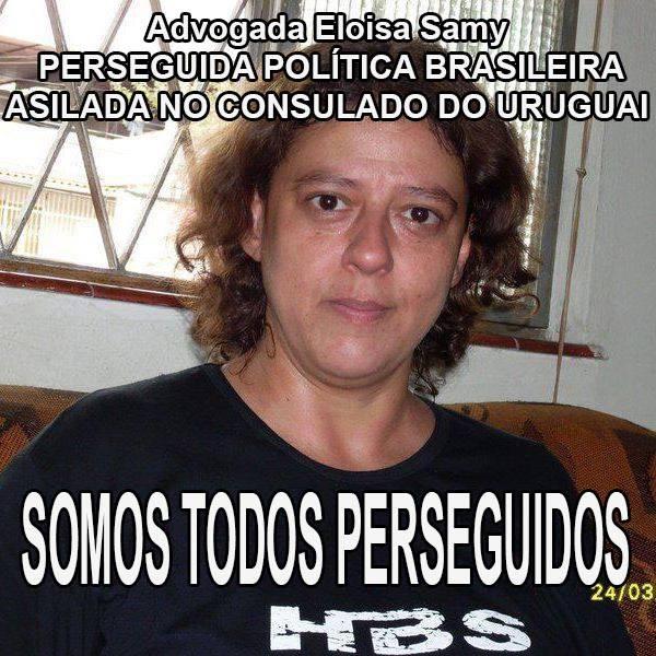 A refugiada política Eloisa Samy. Foto de uso livre.