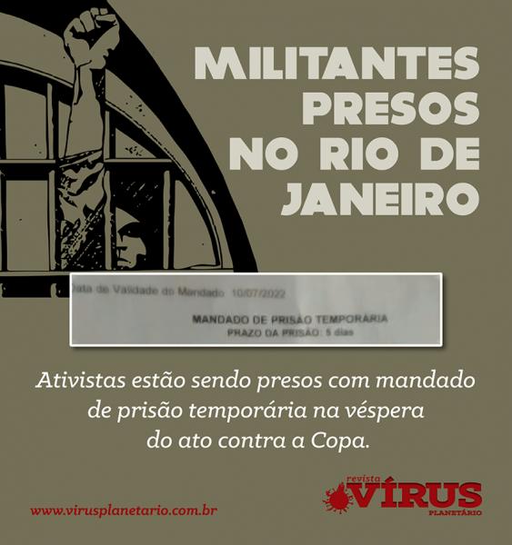 Imagem de uso livre do jornal alternativo Vírus Planetário