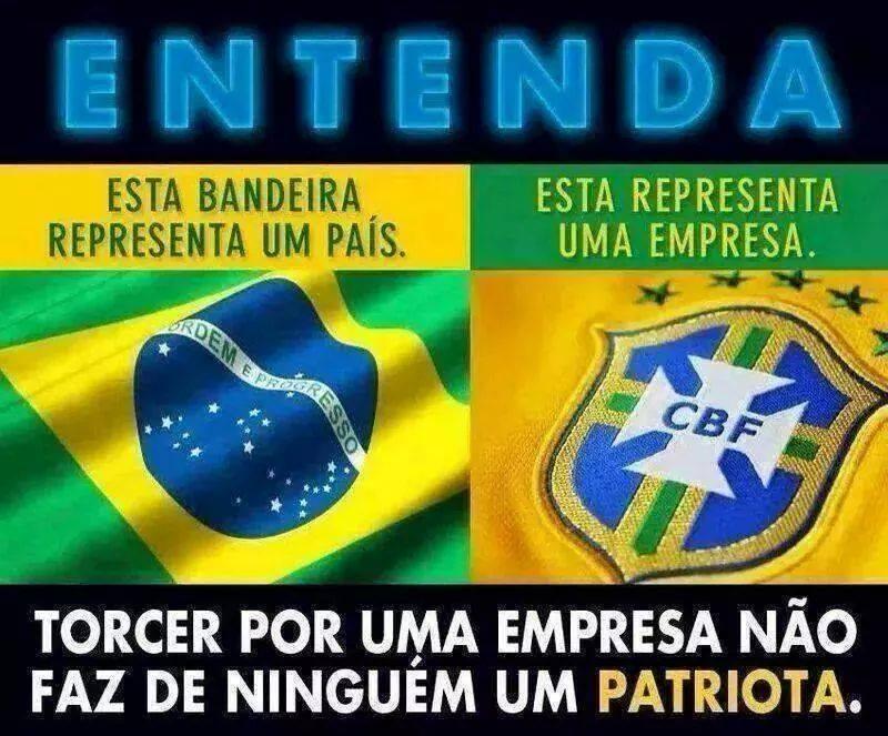 Brasileiros publicam críticas à Confederação Brasileira de Futebol (CBF) após à derrota da seleção Brasileira para a Alemanha.