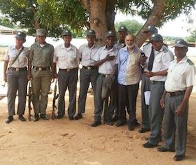 Resgate de Momad Bashir Suleimanae (Foto do Jornal @Verdade)