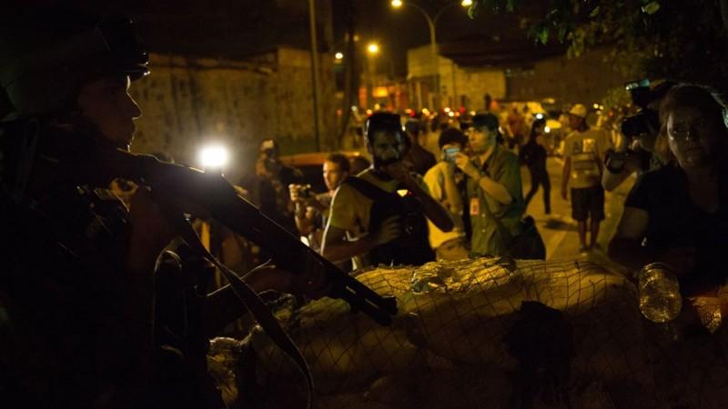 Soldado da Força Pacificador. foto: Guilherme Fernández.