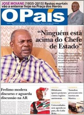 Luta pelo poder na Frelimo