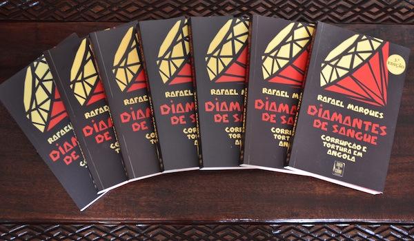 Livro - Diamantes de Sangue. Foto: reprodução autorizada