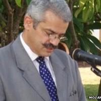 Constitucionalista Giles Cistac. Foto: Governo de Moçambique