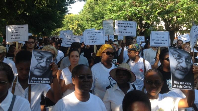 Marcha em memória a Giles Cistac. Foto: Dércio Tsandzana