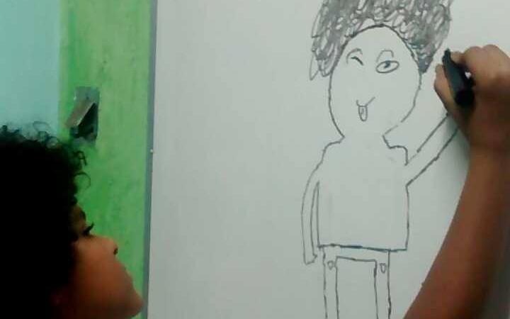 Lucas Neiva passou a se reconhecer como negro depois que deixou o cabelo crescer. (Imagem utilizada com permissão)