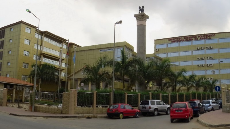 Instalações do Instituto Superior Politécnico Metropolitano de Angola, IMETRO. Foto: iMETRO