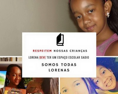 Campaign in support of Lorena on the page Preta e Acadêmica. (Photo: Facebook Preta e Acadêmica)