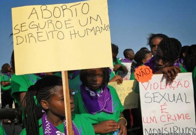 Legaliza Aborto, Moçambique. Foto: Rádio Moçambique, reprodução autorizada.