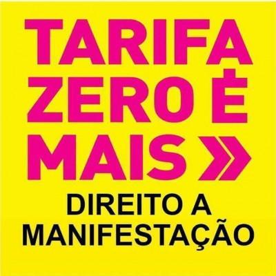 Imagem postada pelo coletivo Tarifa Zero BH