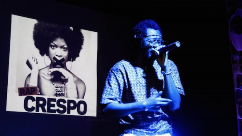 MCK num concerto em Luanda. Foto: Maka Angola com permissão