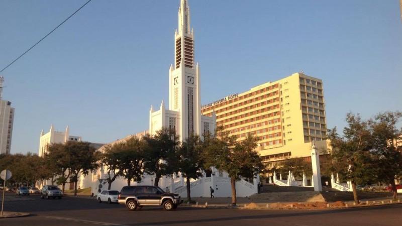 Catedral de Maputo. Foto: Dércio Tsandzana / GlobalVoices (CC BY-NC-ND 4.0)