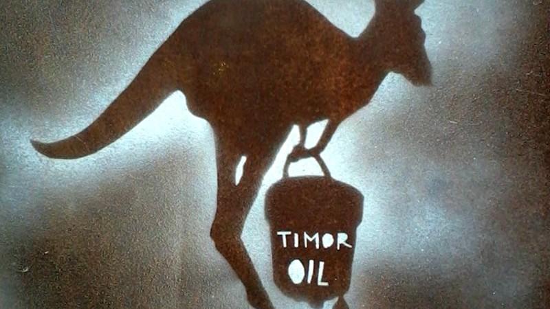 Graffiti Stencil por Alfe Tutuala. Imagem de domínio público partilhada por Wikimedia.
