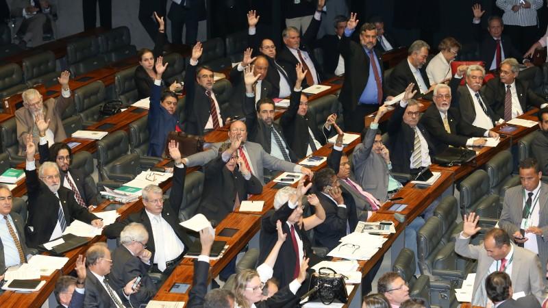 Brasília- DF 24-02-2016 Bancada do PT vota contra o projeto de terrorismo. Foto Lula Marques/Agência PT