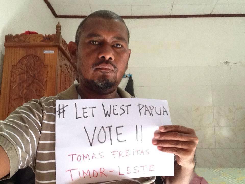 Fonte: Free West Papua Australia / Facebook