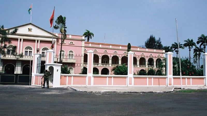 Palácio Presidencial de São Tomé e Príncipe. Foto: Wikimedia/Domínio Público