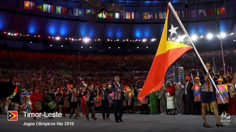 Timor-Leste surpreende os internautas com a sua participação nas Olimpíadas do Rio de Janeiro