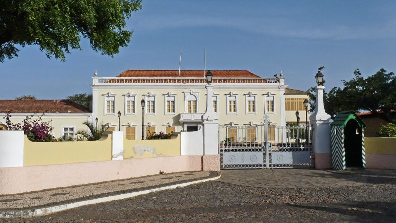 Palácio Presidencial de Cabo Verde, cidade da Praia. Foto: Wikimedia CC BY-SA 3.0