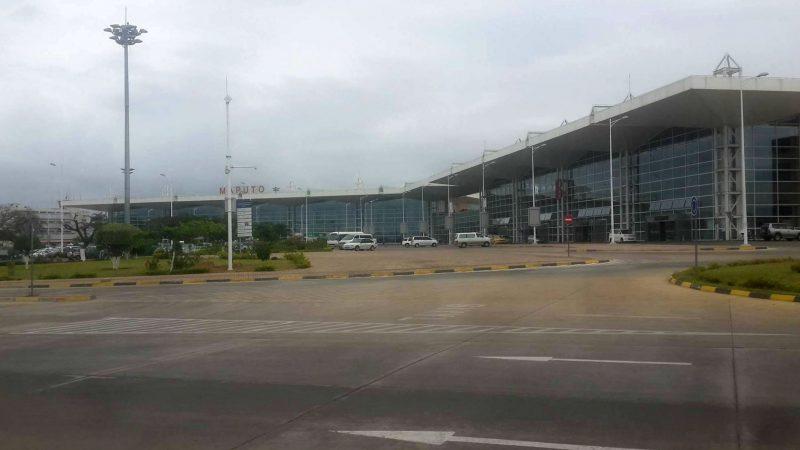 Aeroporto Internacional de Maputo. Foto: Celso Alfredo Costa