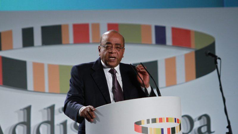 Mo Ibrahim, Addis Ababa (arquivo). Foto: Mo Ibrahim Foundation