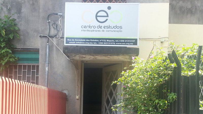 Sede do CEC em Maputo. Foto: Manuel Ribeiro/GV