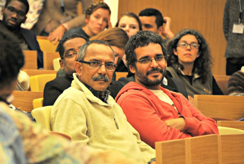 Activisms in Africa, The International Conference organized by Center for International Studies of the Instituto Universitário de Lisboa (CEI-IUL), took place at ISCTE-IUL on january 11-13 th 2017. Fotografia de Hugo Alexandre Cruz.