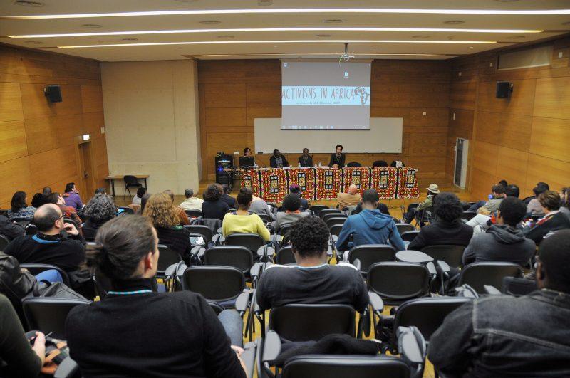 La Conférence internationale Activisme en Afrique organisée par le Centre d'études internationales de l'Institut universitaire de Lisbonne (CEI-IUL), a eu lieu à ISCTE-IUL les du 11 au 13 janvier 2017. Photo de Hugo Alexandre Cruz. . Publiée avec permission