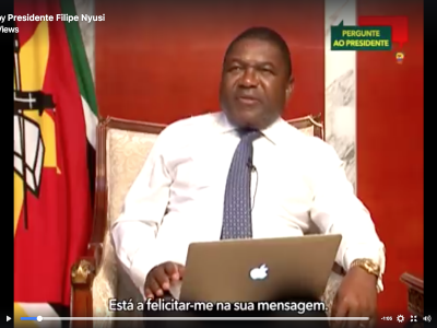 Mozambique's President Answers Citizens' Questions Online, but Avoids Difficult Ones