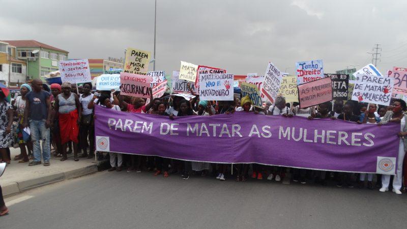 Angolanas lançam campanha contra a violência doméstica no país