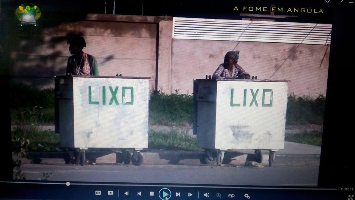 Captura de imagens do vídeo que existe apenas em DVD físico | Foto do autor, Simão Hossi -- usada com permissão