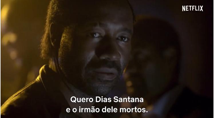 Un des personnages du film Santana, déclarant désirer la mort de Santana et de son frère.